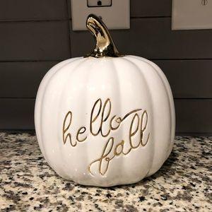 Martha Stewart Hello Fall pumpkin